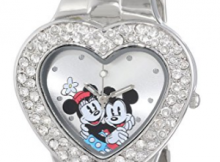 2017-01-15 03_39_16-Amazon.com_ Disney Women's MN2003 Mickey and Minnie Mouse Silver Dial Bracelet W