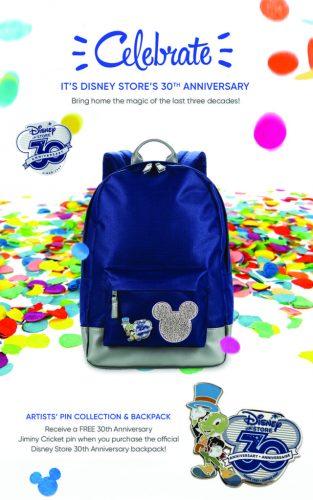 Disney Store 30th anniversary