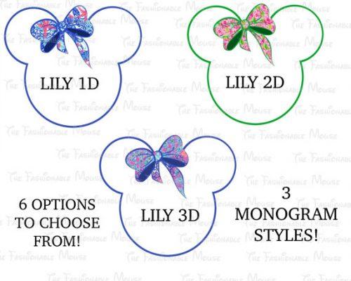 monogram minnie mouse 1