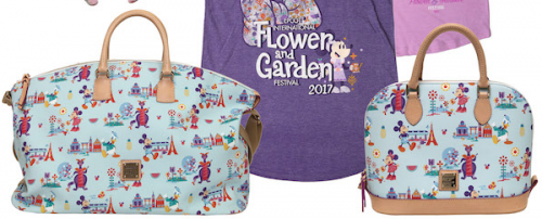 The 2017 Epcot Flower And Garden Festival Merchandise Including Dooney And Bourkes Are Revealed