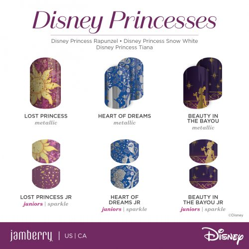 2017 DCBJ #5_Rapunzel Snow White Tiana w-jr COLLECTIN