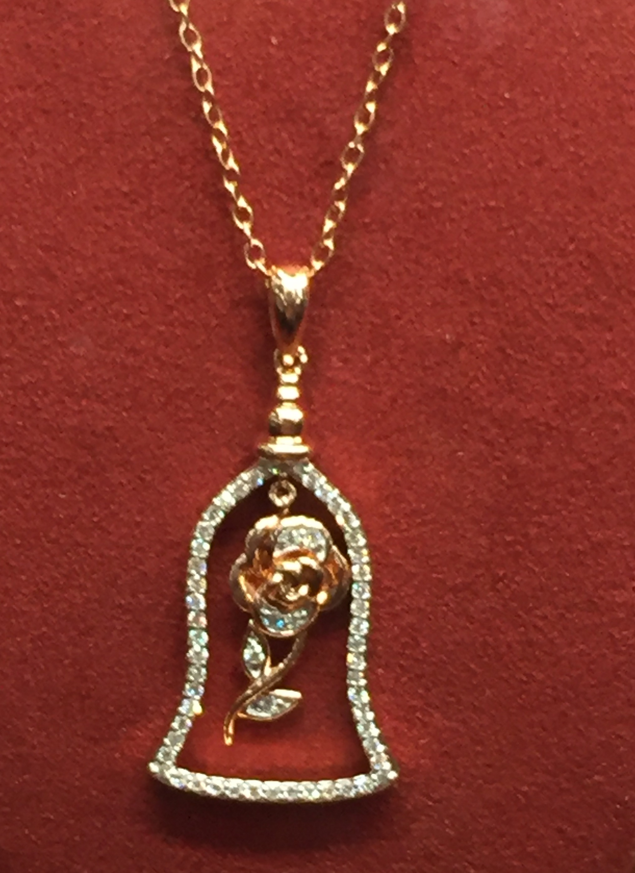 Disney 39 s beauty and the beast jewelry will enchant you for Disney beauty and the beast jewelry