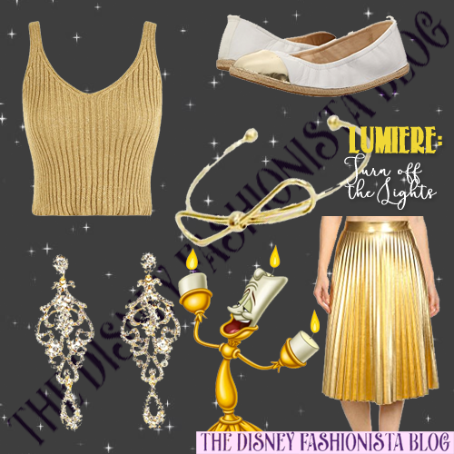 Today We Are Presenting A 2 For 1 Disneybounding Line Up With Lumiere And His Babette The Feather Duster Scroll Below To See How Curated Our