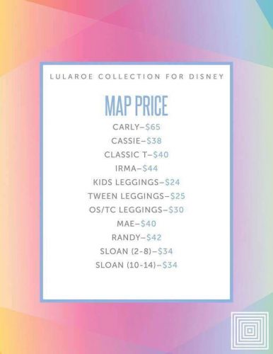 Carly Disney Pricing