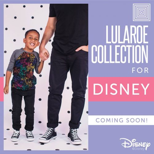 The LuLaRoe Collection For Disney Is Launching Tonight!