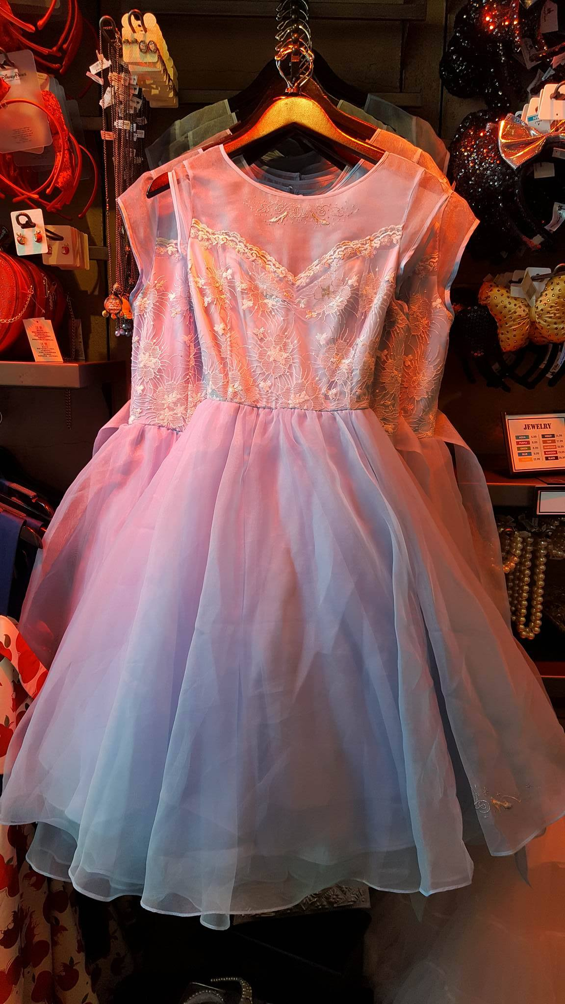 Dresses Are Now Restocked at The Dress Shop in Disneyland ...