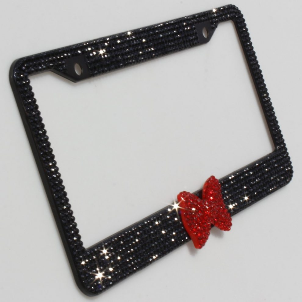disney discovery minnie mouse inspired license plate holder - Disney License Plate Frame