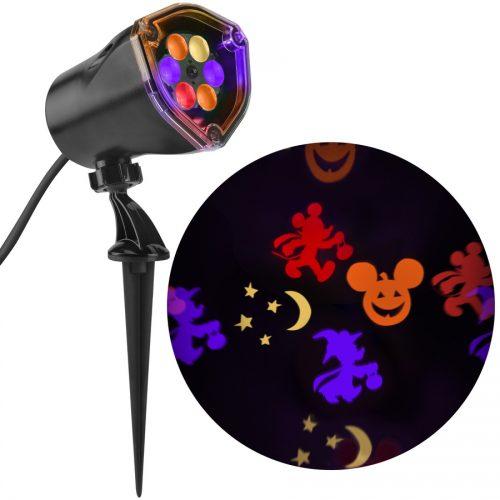 disney halloween lighting