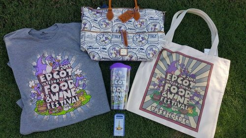 Epcot Food and Wine Annual Passholder Merchandise