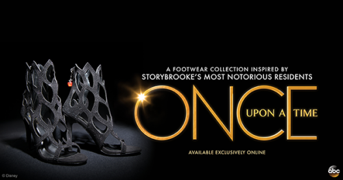 Once Upon a Time Shoe Collection