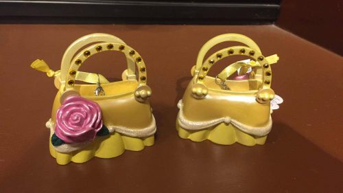 belle handbag ornament