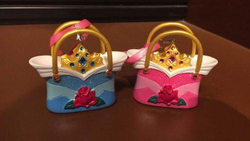 sleeping beauty handbag ornament