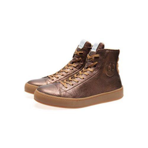 Po-Zu Limited Edition Bronze Leather Star Wars Sneaker