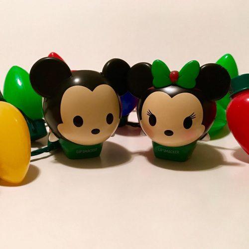 Disney holiday lipsmackers