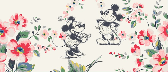 The Fifth Collection In Disney X Cath Kidston Collaboration To Feature Mickey And Friends