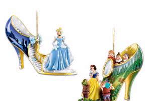 Disney Shoe Ornament Collection