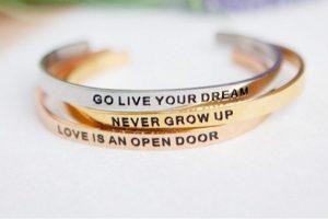 Disney quote bracelets