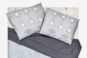 Geometric Mickey Bedding Set