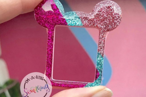Bubblegum Wall Mickey Apple Watch Cover