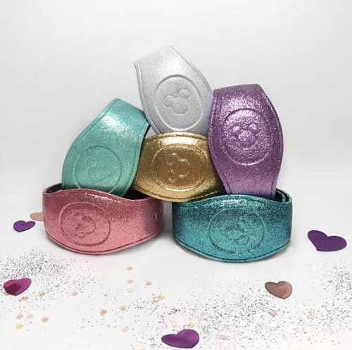 Sparkle And Shine With These Pastel Glitter Magicbands