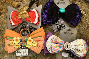 Disney Parks Attractions Interchangeable Bows