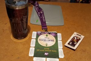 California Adventure Food and Wine Annual Passholder Merchandise