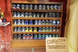 Hand Blown Glass Disney Characters