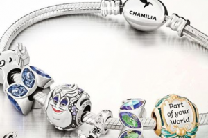 Little Mermaid Chamilia charm collection