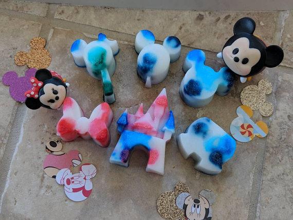 Disney Sugar Scrub Soaps